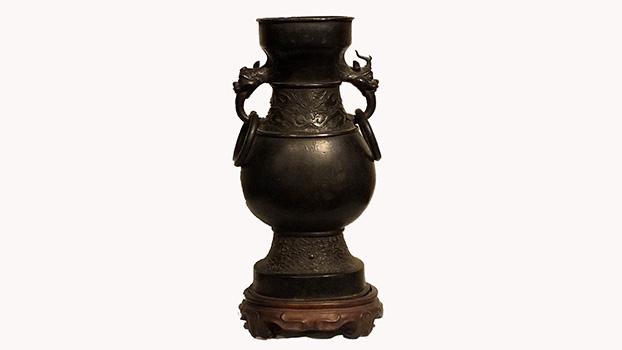 Ming Dynasty Bronze Vase