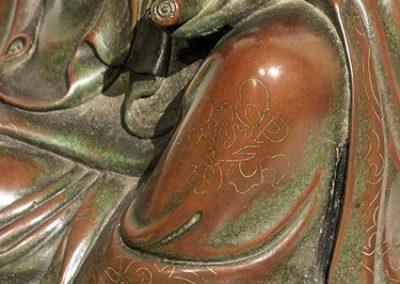 Silver Wire Inlaid Bronze GuanYin (4)