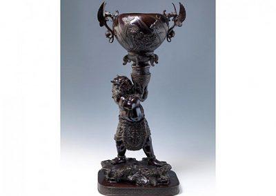 Impressive Bronze ONI Figure (2)