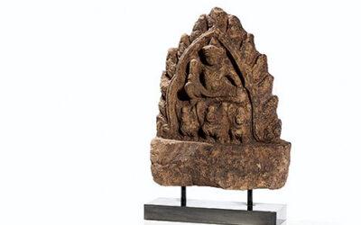 Superb Angkor Figure Indra