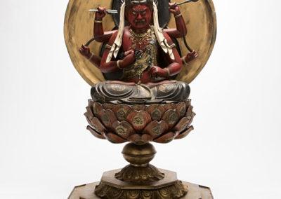 Highly Important Sculpture Aizen (1)