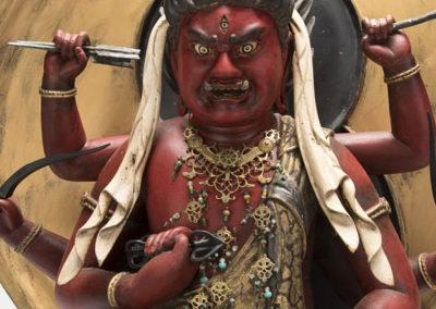 Highly Important Sculpture Aizen (2)