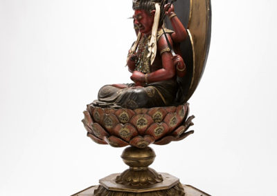 Highly Important Sculpture Aizen (3)