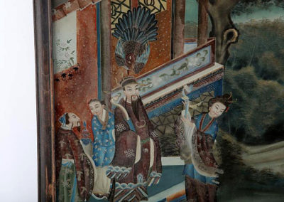 CHINESE REVERSE GLASS PAINTING (1)