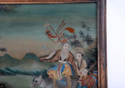 CHINESE REVERSE GLASS PAINTING (3)