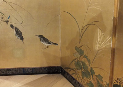 FINE JAPANESE FOLDING SCREEN (2)