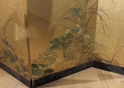 FINE JAPANESE FOLDING SCREEN (3)