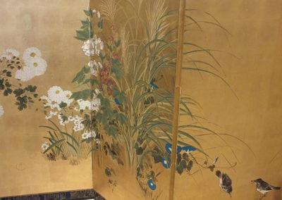 FINE JAPANESE FOLDING SCREEN (4)