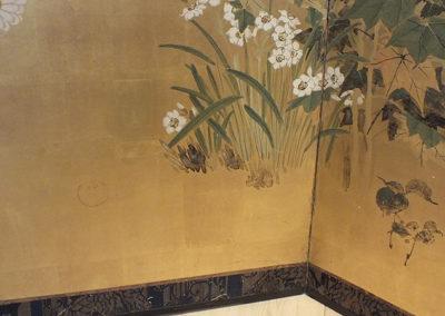 FINE JAPANESE FOLDING SCREEN (5)