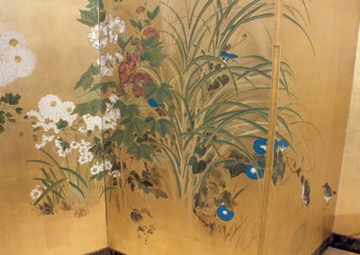 FINE JAPANESE FOLDING SCREEN (6)
