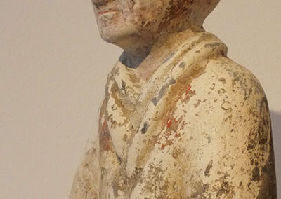 Han Painted Pottery Warrior (3)