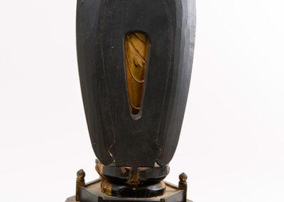 Carved Gilded Wood Standing Amida Buddha (5)