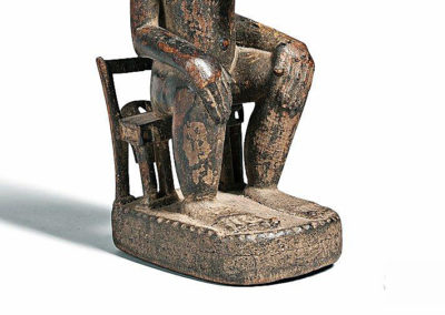 Fine Baule Seated Male Figure (3)