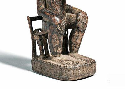 Fine Baule Seated Male Figure (3)