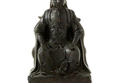 Fine Bronze Figure Zhen Wu (1)