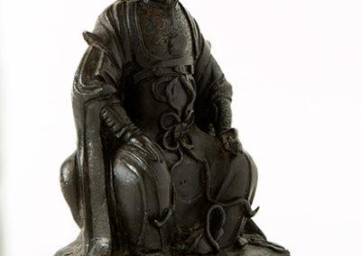 Fine Bronze Figure Zhen Wu (2)