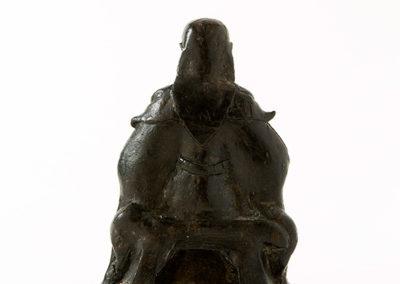 Fine Bronze Figure Zhen Wu (4)