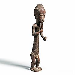 Magnificent Large Baule Figure