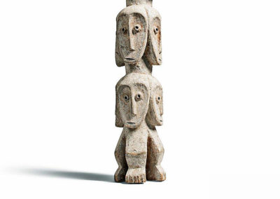Rare Lega Several Heads Figure (1)