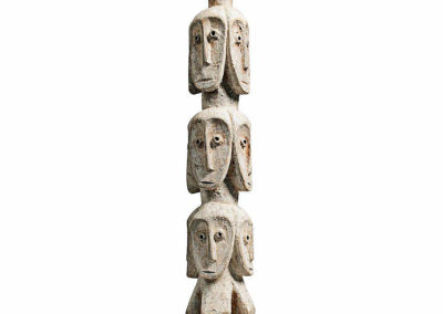 Rare Lega Several Heads Figure (2)