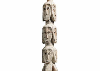 Rare Lega Several Heads Figure (2)