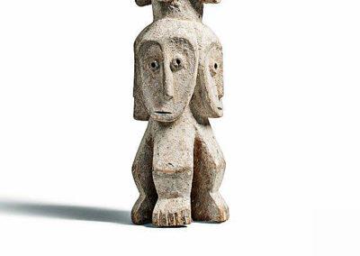 Rare Lega Several Heads Figure (5)