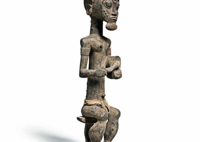 Superb Baule Seated Male Figure (1)