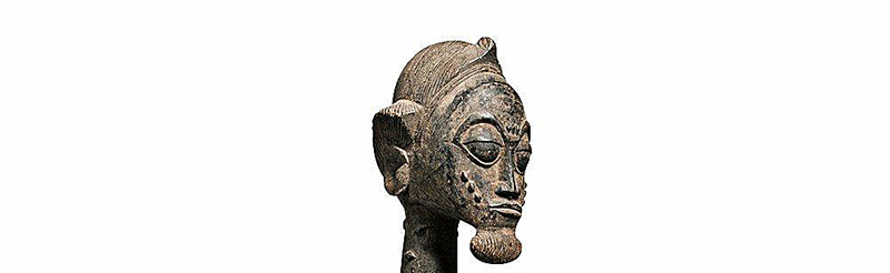 Superb Baule Seated Male Figure (2)
