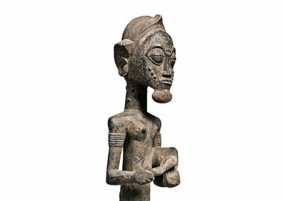 Superb Baule Seated Male Figure (3)