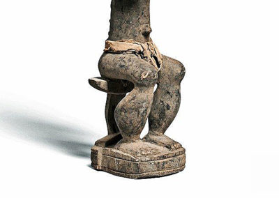 Superb Baule Seated Male Figure (4)