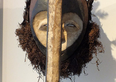 Superb Kwele Mask Gabon (1)