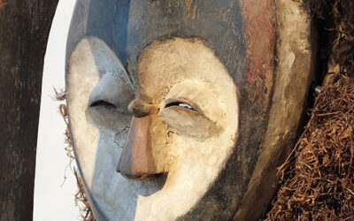 Superb Kwele Mask Gabon