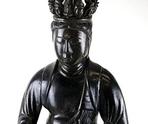 Rare Large Bronze Seven Headed Kannon