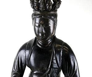 Rare Large Bronze Seven Headed Kannon