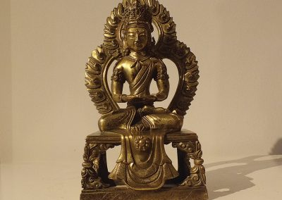 Gilt Bronze Figure of Amitayus (1)