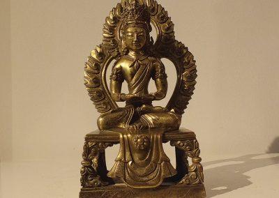 Gilt Bronze Figure of Amitayus (1)