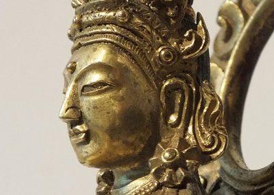 Gilt Bronze Figure of Amitayus (10)