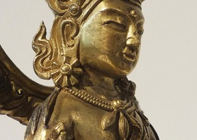 Gilt Bronze Figure of Amitayus (14)