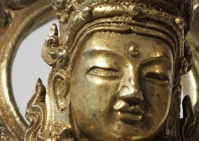 Gilt Bronze Figure of Amitayus (15)