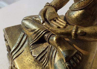 Gilt Bronze Figure of Amitayus (19)