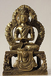 Gilt Bronze Figure of Amitayus