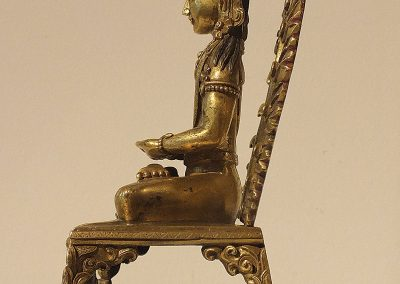 Gilt Bronze Figure of Amitayus (4)