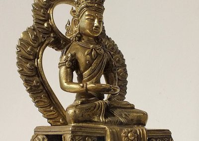 Gilt Bronze Figure of Amitayus (6)