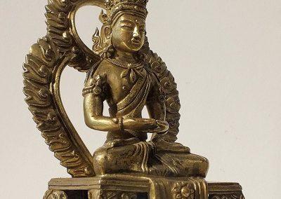 Gilt Bronze Figure of Amitayus (6)