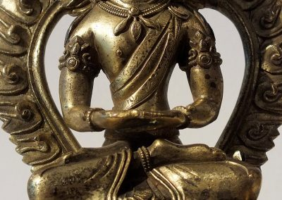 Gilt Bronze Figure of Amitayus (8)