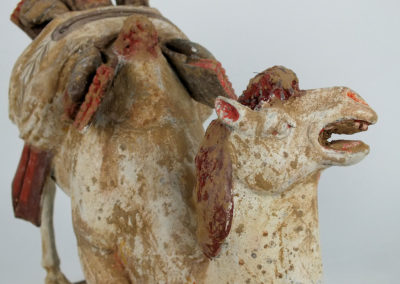Large Tang Dynasty Crouching Bactrian Camel (14)