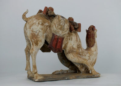 Large Tang Dynasty Crouching Bactrian Camel (8)
