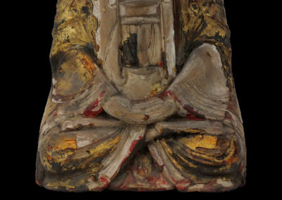 Ming Dynasty Giltwood Guanyin (10)