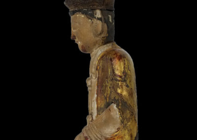 Ming Dynasty Giltwood Guanyin (13)