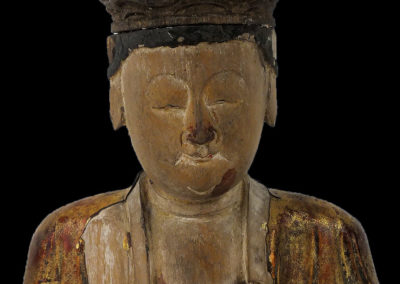 Ming Dynasty Giltwood Guanyin (2)
